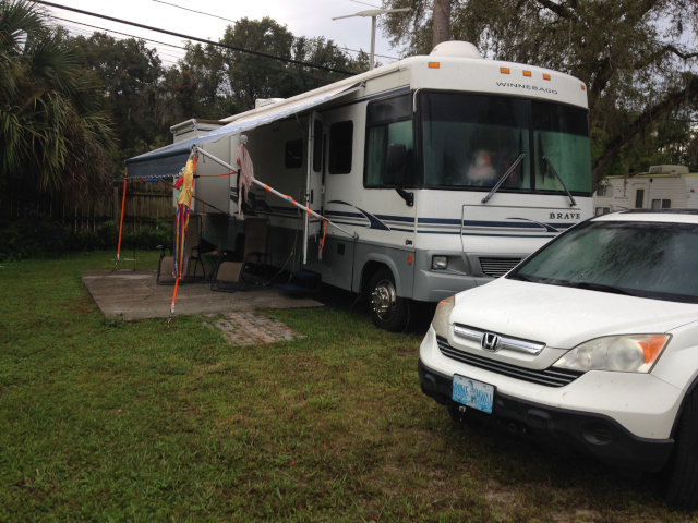 Nomadic Nudists RV site at Riverboat Florida