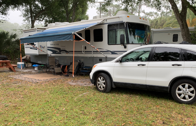 RV site at Sunnier Palms in Florida