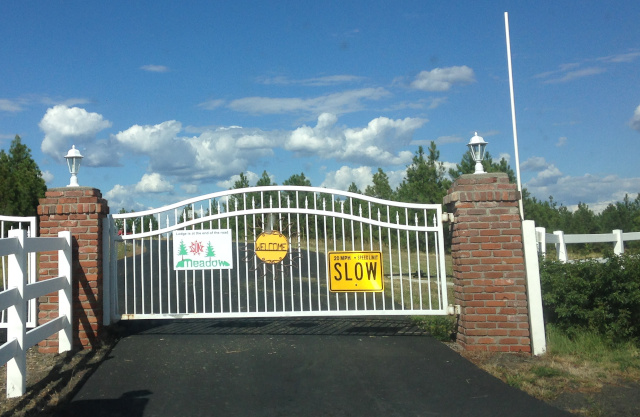 Sun Meadow naturist resort gate